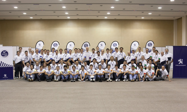 Olimpiadas Peugeot 2013