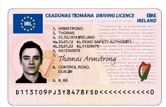 nuevo carne de conducir europeo