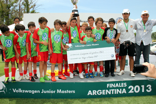 VW Junior Masters 2013 - Final Nac - Campeon Córdoba - Equipo2