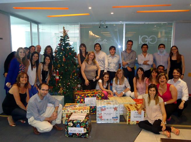 Voluntariado GM Argentina - Programa Nochebuena para todos