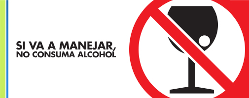 manejar sin alcohol