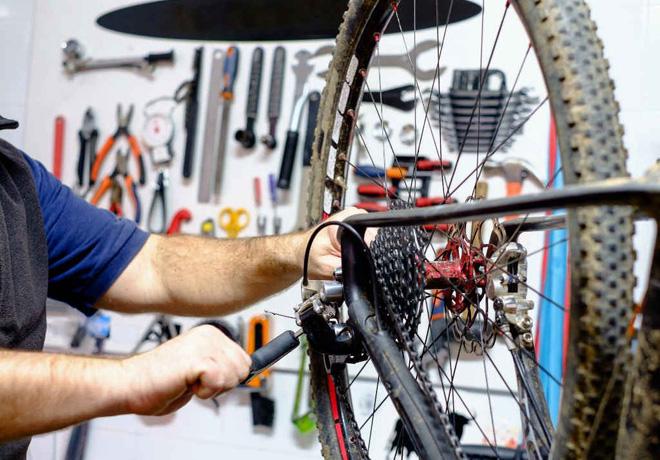 Consejos para el mantenimiento y puesta a punto de las bicicletas.