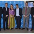 Los integrantes del panel de empresas reunidas por la seguridad vial 2