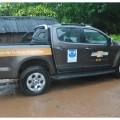Chevrolet S10 utilizadas en los viajes de la Fundación FOA