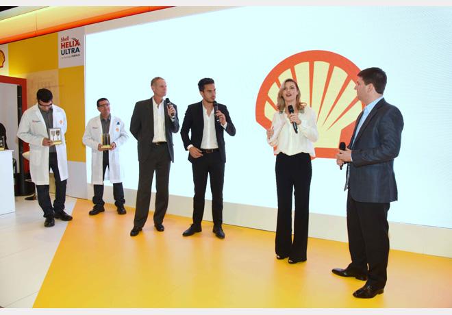 Shell en el Salón del Automóvil-Presentación