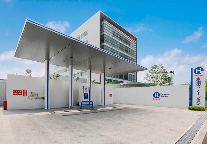 Estacion de hidrogeno en Amagasaki - Japon