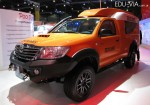 Pool Rural - Toyota Hilux DX 4x4 Cabina Simple - Transporte para escuelas rurales 2
