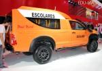 Pool Rural - Toyota Hilux DX 4x4 Cabina Simple - Transporte para escuelas rurales 4