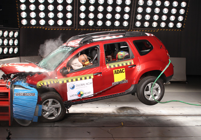 Latin NCAP - Renault Duster - con 1 Airbag