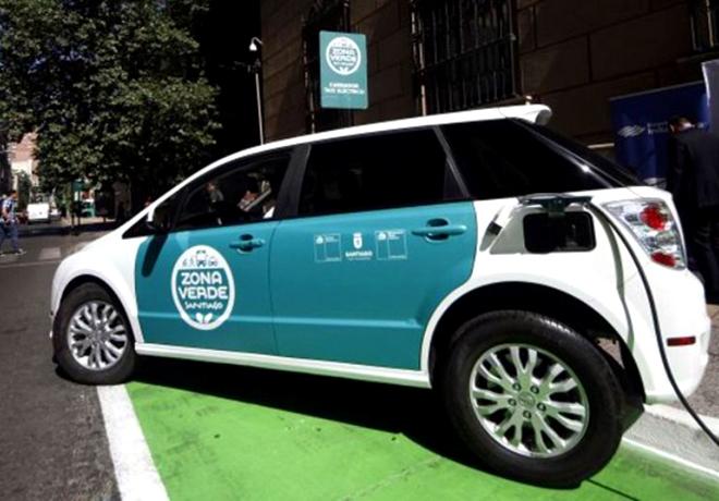 taxi eléctrico chile 2