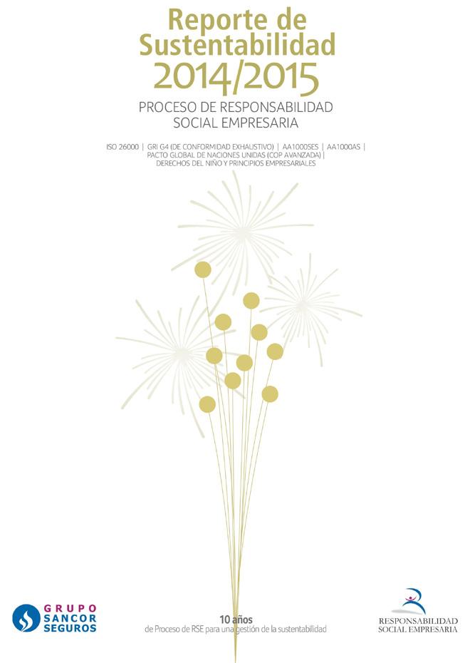 Grupo Sancor Seguros - Reporte de Sustentabilidad 2014-2015