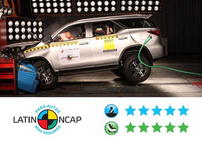 Toyota-SW4-5-estrellas-LATIN-NCAP