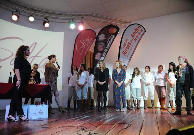 Trophée Roses des Andes- Solidaridad