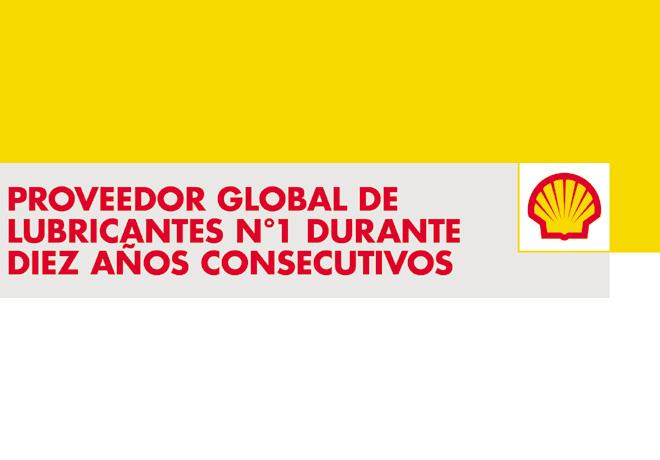 Shell es el proveedor número uno a nivel mundial en lubricantes por 10 años consecutivos