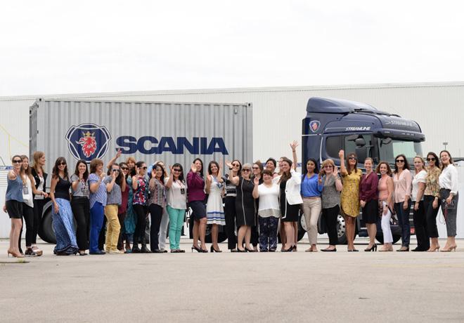 Scania y mujeres empresarias de Latinoamérica