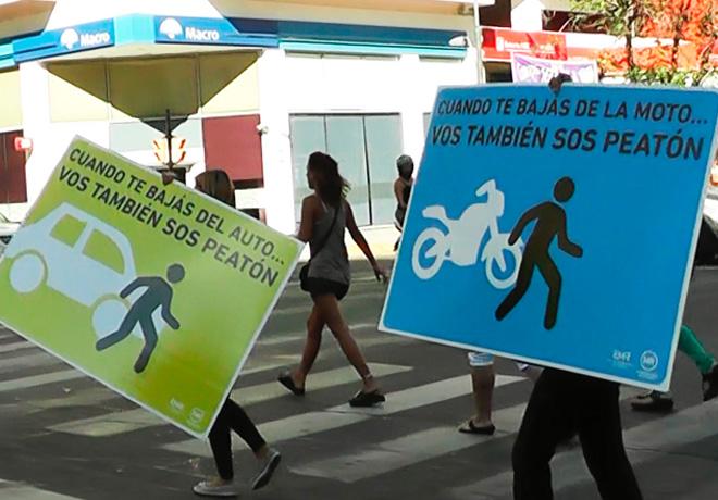Dia de la seguridad peatonal