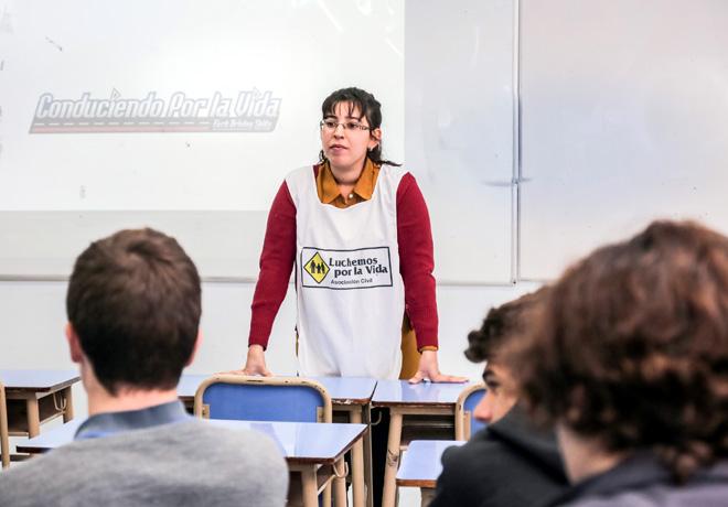 Ford Argentina junto a Luchemos por la Vida extiende este año su programa sobre educación y concientización vial.