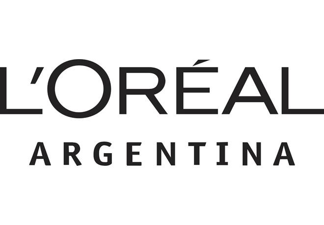 Loreal logo negro