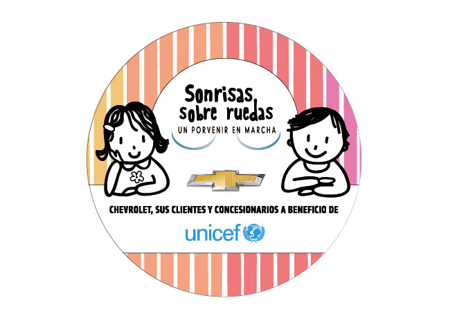 """Chevrolet y UNICEF siguen sumando """"Sonrisas sobre Ruedas""""."""