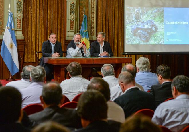 Argentina: Nación y Provincia de Buenos Aires trabajan para mejorar la seguridad vial