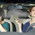 Fumar y conducir