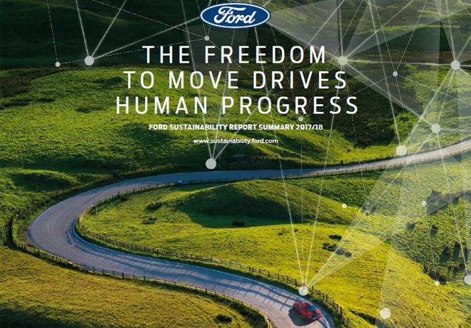 Menos emisión de carbono: Un objetivo cumplido para Ford Motor Company 8 años antes.