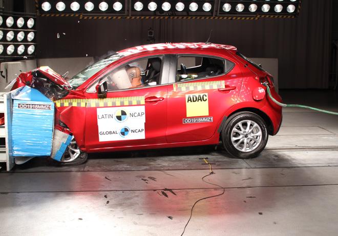 Latin-NCAP-Mazda-2 2