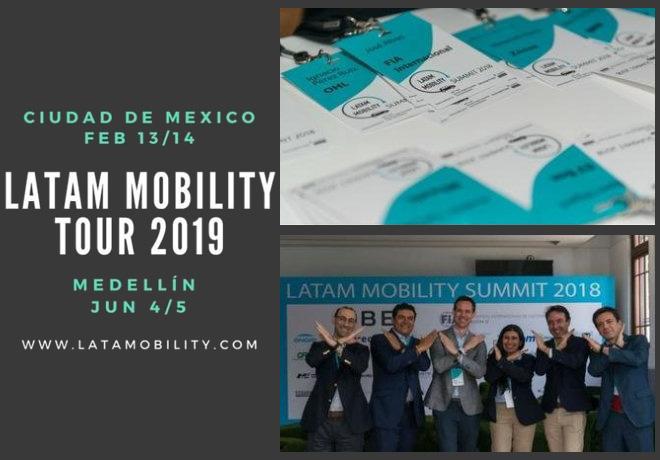 LATAM Mobility Tour 2019 - Mexico - Medellin