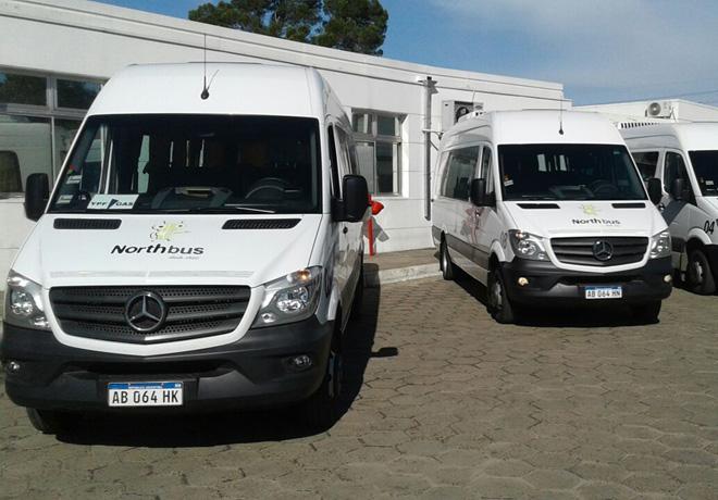 Pointer Northbus minibus Mercedes Benz