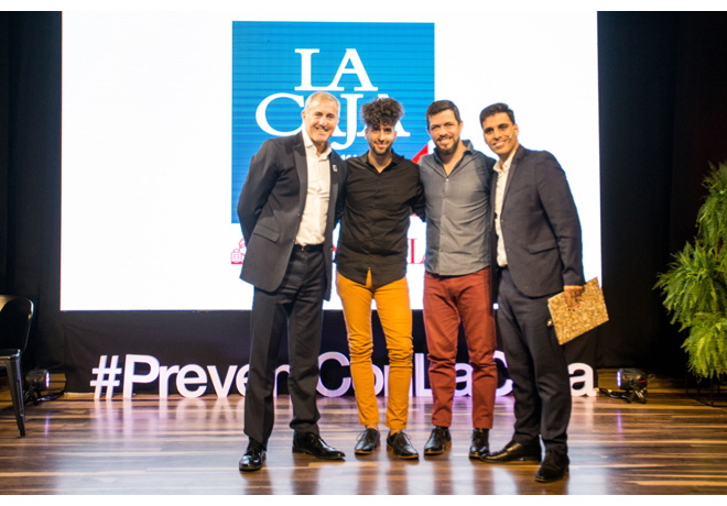 """La Caja presentó el audiovisual de su campaña """"Prevení en la Ruta"""""""