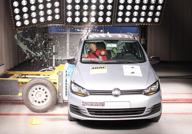 Latin NCAP - VW Suran - con 2 Airbags