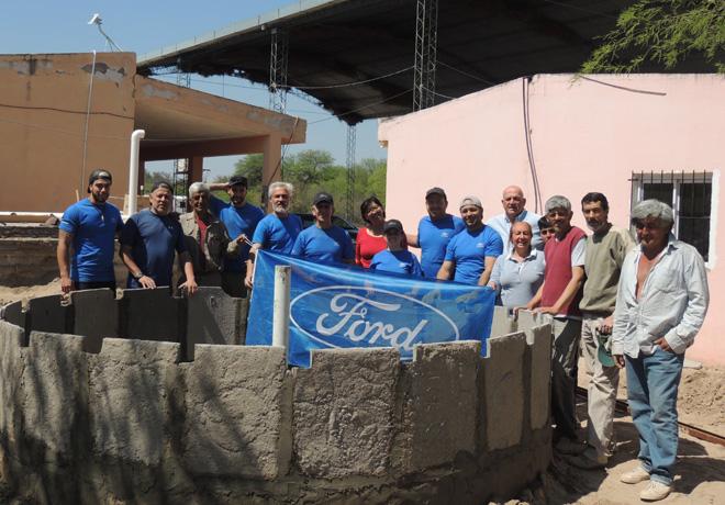 Ford Argentina reafirma su compromiso con la comunidad en una nueva edición del Mes del Voluntariado.