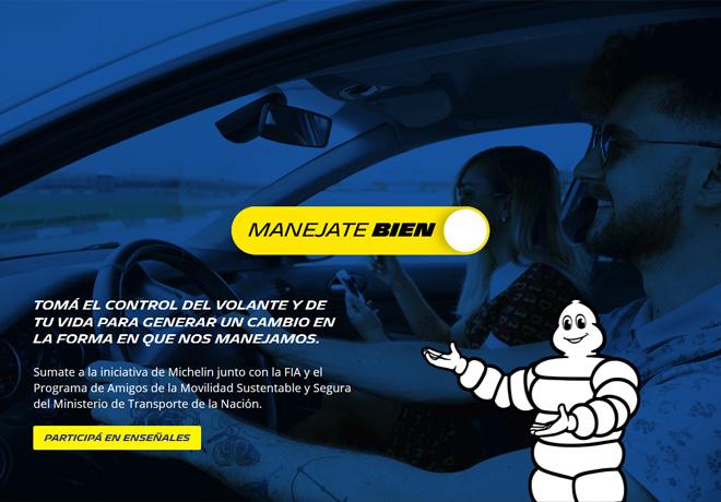 Michelin lanza #ManejateBien, su nueva campaña de concientización.