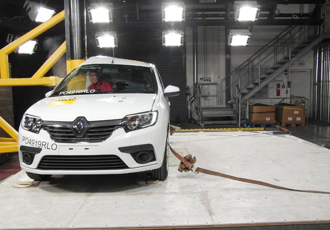 Latin NCAP - Renault Sandero-Logan-Stepway - con 4 Airbags 2